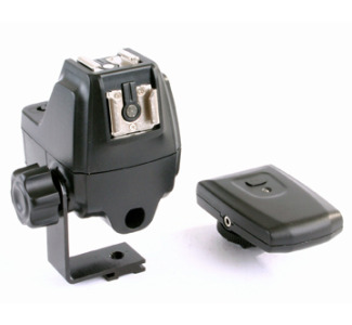 RPS 4 Channel Wireless Flash Trigger Kit with Hot Shoe, Umbrella Mount