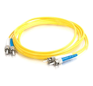 Cables To Go Fiber Optic Duplex Cable - ST Network - ST Network - 22.97ft