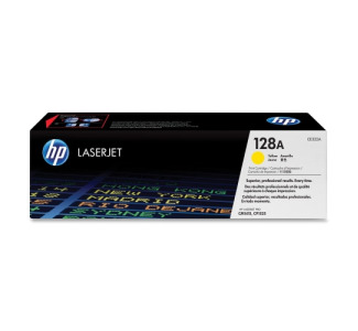 HP No. 128A Toner Cartridge - Yellow