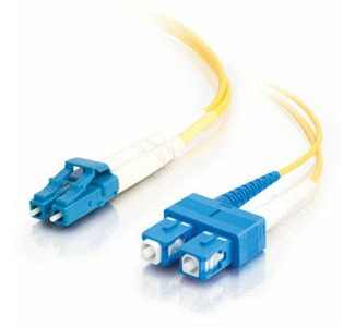 Cables To Go Fiber Optic Duplex Cable - LC Male Network - SC Male Network