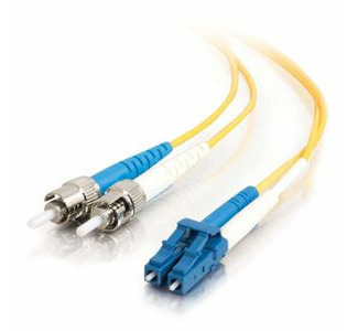 Cables To Go Fiber Optic Duplex Cable - ST Network - LC Network - 29.53ft