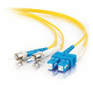 Cables To Go Fiber Optic Duplex Cable - SC Network - ST Network - 29.53ft