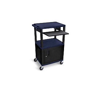 Luxor Adjustable Compact Steel Computer Workstation 26-42