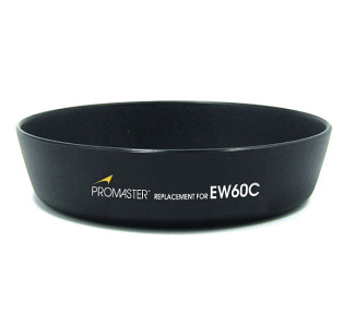 Promaster EW60C Replacement Canon Lens Hood f/EF-S 18 55 f/3.5 5.6/II/II USM