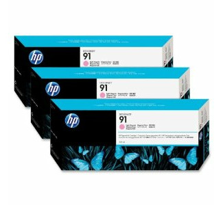 HP No. 91 Multipack Light Magenta Ink Cartridge