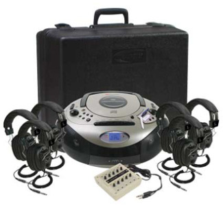 Califone 6-Position Spirit SD Stereo Listening Center