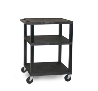 Black 34 In  Tuffy Cart Black Legs & Electrical