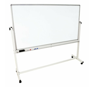 "72"" x 40"" Mobile White Board"
