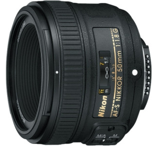 Nikon Nikkor 2199 50 mm f/1.8 Wide Angle Lens for Nikon F