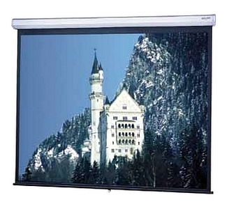 Da-Lite Model C Manual Wall and Ceiling Projection Screen