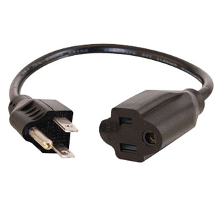 Cables To Go Outlet Saver Power Extension Cable