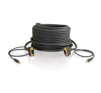 Cables To Go Flexima 28253 Coaxial A/V Cable - 35 ft