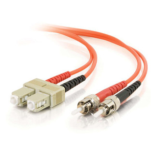 Cables To Go Fiber Optic Duplex Patch Cable - 13.12 ft