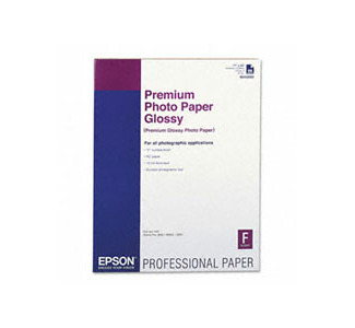 "Epson Premium Glossy Photo Paper 60""x40ft, 25 pack"