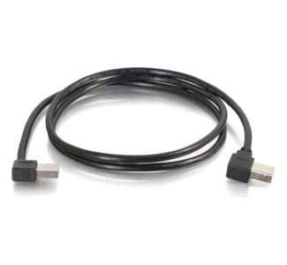 Cables To Go USB Cable - 1M Right Angled A to B