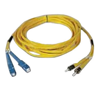 Tripp Lite Singlemode Duplex Patch Cable - 2 x SC to 2 x ST, 16.4ft