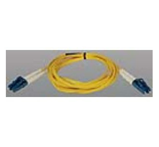 Tripp Lite Duplex Fiber Optic Patch Cable, 2 x LC Male to 2 x LC Male, 6.56 ft