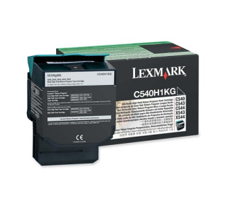 Lexmark Return High Capacity Black Toner Cartridge