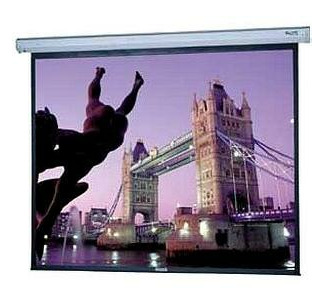 Da-Lite 10'X10'  Cosmopolitan Electrol Projection Screen with Low Voltage Control