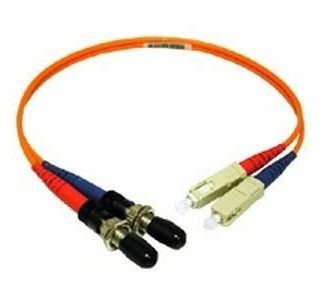 Cables To Go Multimode Fiber Optic Cable (SC-M/ST-F) 1 ft