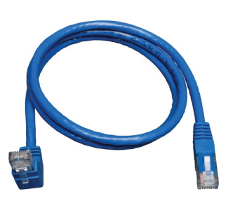 Tripp Lite N204-003-BL-UP Cat.6 Network Cable  (RJ45 M/up angle M) 3 ft - Blue