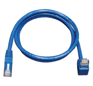 Tripp Lite N204-005-BL-DN Cat.6 Patch Cable (RJ45 M/down angle M) 5 ft - Blue