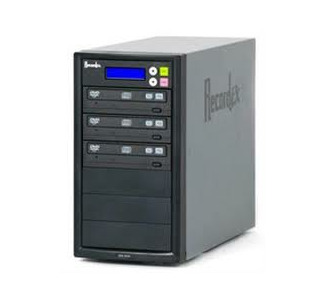 Recordex DVD300H TechDisc Pro DVD/CD Duplicator with 250GB Hard Drive - 1 Source to 3 Records