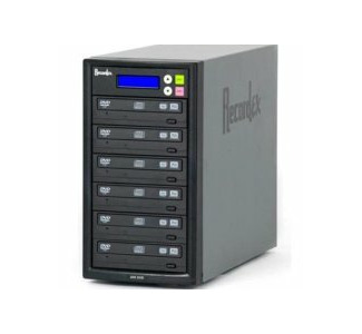 Recordex DVD500 TechDisc Pro DVD/CD Duplicator - 1 Source to 5 Records