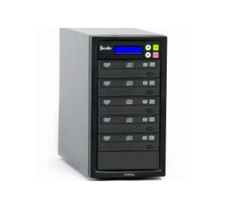 Recordex DVD500H TechDisc Pro DVD/CD Duplicator with 250GB Hard Drive - 1 Source to 5 Records