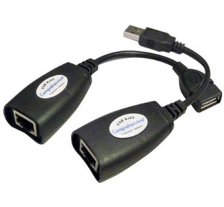 Comprehensive USB 1.1 Extender A Female to A Male - 150ft Range
