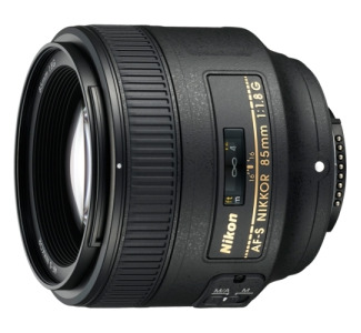Nikon Nikkor 85 mm f/1.8 Medium Telephoto Lens for Nikon F-Bayonet
