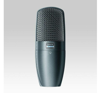 Shure BETA 27 Supercardioid Side-Address Condenser Instrument and Vocal Microphone