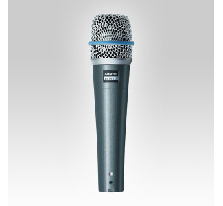 Shure BETA 57A Supercardioid Dynamic High Output Neodymium Element Instrument/Vocal Microphone