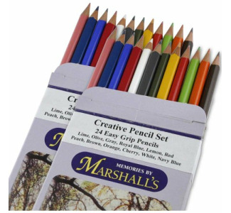 Marshall Creative Pencil Set (24 Colors)