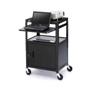 Bretford CA2642NS-E5 Multipurpose Cart with Cabinet