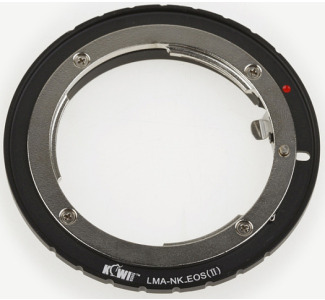 Promaster Camera Mount Adapter - for Nikon F to Canon EOS