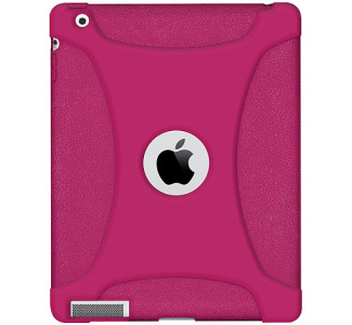 Amzer 90792 Silicone Skin Jelly Case - Hot Pink For Apple iPad 2