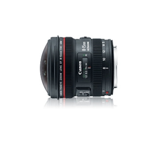 Canon 4427B002 8 mm - 15 mm f/4 Fisheye Lens for Canon EF/EF-S