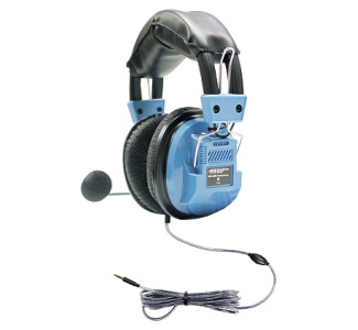 Hamilton SCG-AMV Deluxe Headset with Goose Neck Microphone and TRRS Plug