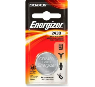 Energizer CR2430 3V Coin Cell Lithium Battery