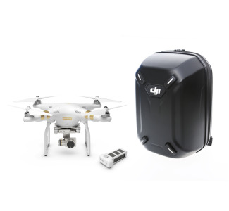 DJI Phantom 3 Pro Quadcopter Outfit with Spare Battery and Hardshell Bpack