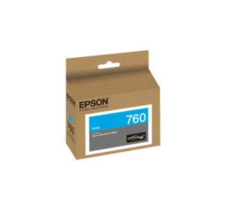 EPSON 760 Cyan Ink Cartridge - T760220