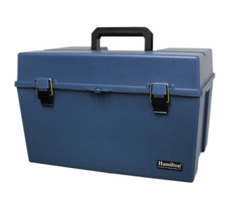 Hamilton Carrying Case for Audio Listening Center - Blue
