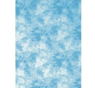 Promaster Cloud Dyed Backdrop - 6'' x 10'' - Light Blue