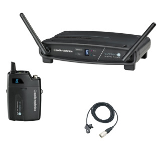 Audio-Technica System 10 ATW-1101/L Wireless Microphone System