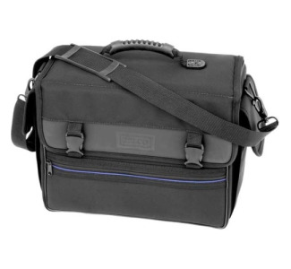 JELCO Carrying Case for Laptop, Projector, Cellular Phone, Ticket, Accessories - Black