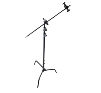 Promaster Professional C-Stand Kit with Turtle Base - Black