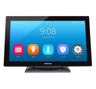 "Crestron 15.6"" HD Touch Screen, Tabletop Tilt, Black Smooth"