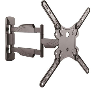 "StarTech.com Full Motion TV Mount - for 32"" to 55"" Monitors - Heavy Duty Steel - Articulating TV Wall Mount - VESA Wall Mount"