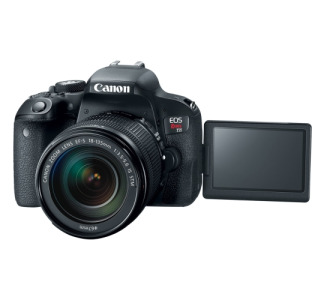 Canon EOS Rebel T7i 24.2 Megapixel Digital SLR Camera with Lens - 18 mm - 135 mm